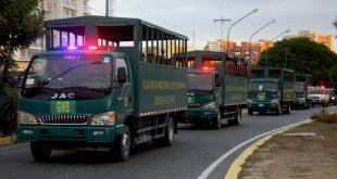 Organismos de seguridad activaron despliegue especial para el resguardo de los larenses