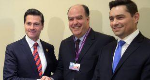 Peña Nieto manifestó a Borges apoyo para resolver crisis venezolana