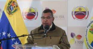 Reverol: Hasta los momentos los estados más visitados son Falcón, Vargas y Miranda
