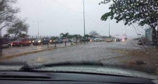 Fuertes lluvias se registran en todo el estado Lara