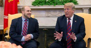 Presidente Trump recibió por lo alto al preso liberado por Venezuela Joshua Holt