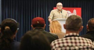 Jorge Rodríguez / Vicepresidente para la Comunicación y Cultura