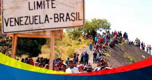 Venezolanos refugiados en Brasil